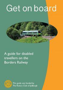 Image of new railway leafletr